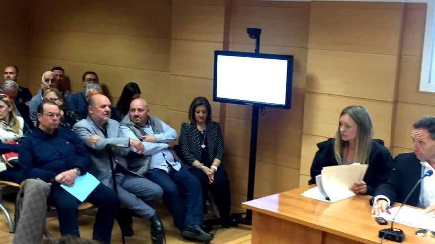 José Luis Roberto, líder de España 2000, en el juicio por el acoso a Mónica Oltra en su casa