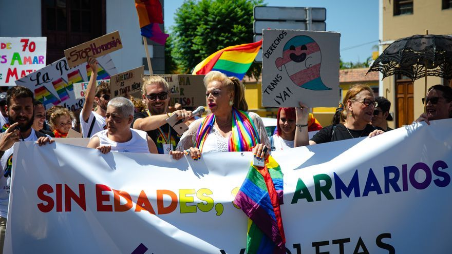 Marcha del Orgullo en Tazacorte.