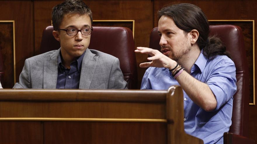 Iglesias y Errejón miden mañana en el Consejo Ciudadano qué apoyos tienen sus estrategias sobre el futuro de Podemos