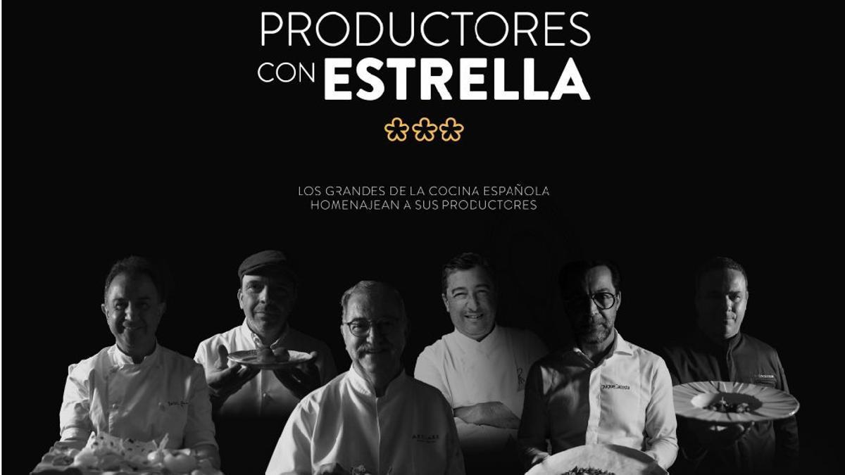 'Productores con estrellas', de Canal Cocina