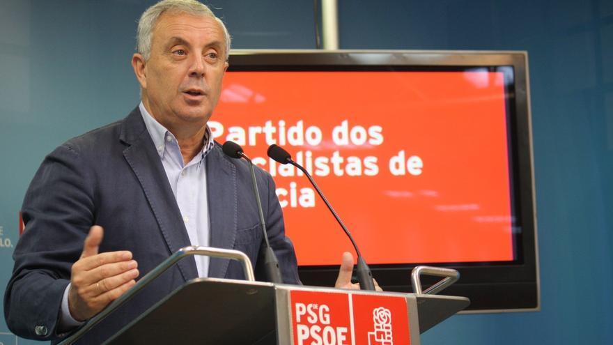 """Vázquez ve a Feijóo """"un presidente muy de platós"""" pero asegura que """"el mito de que Galicia va mejor es falso"""""""