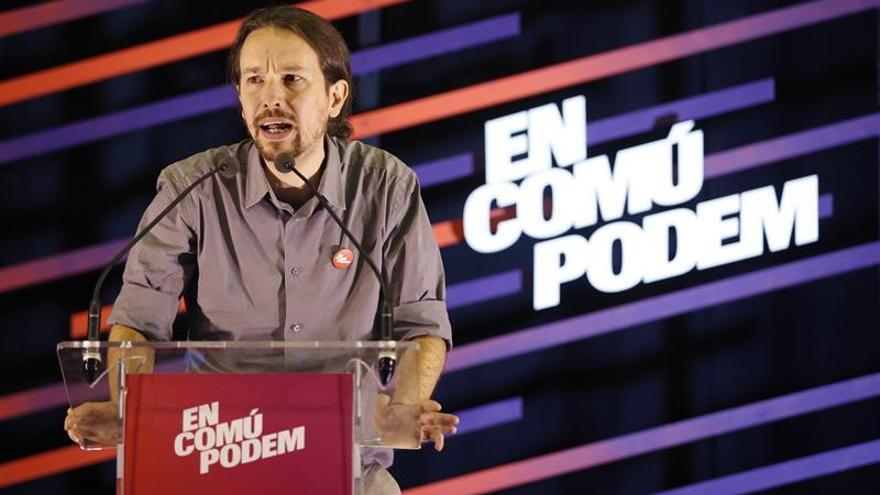 La crisis catalana pone a prueba la fidelidad de los votantes de Podemos