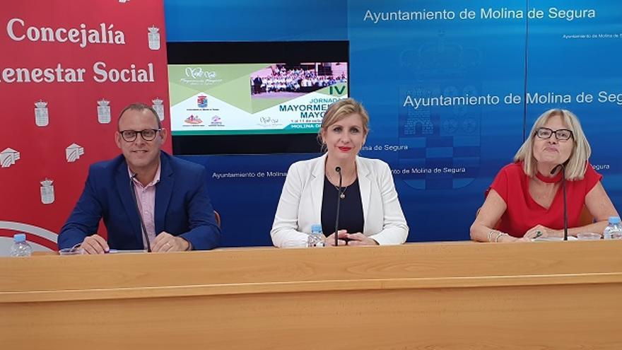 Las actividades de las IV Jornadas Mayormente Mayores de Molina de Segura se desarrollan del 1 al 11 de octubre