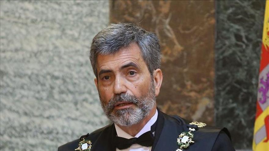 El presidente del CGPJ niega que la Justicia esté politizada en Cataluña