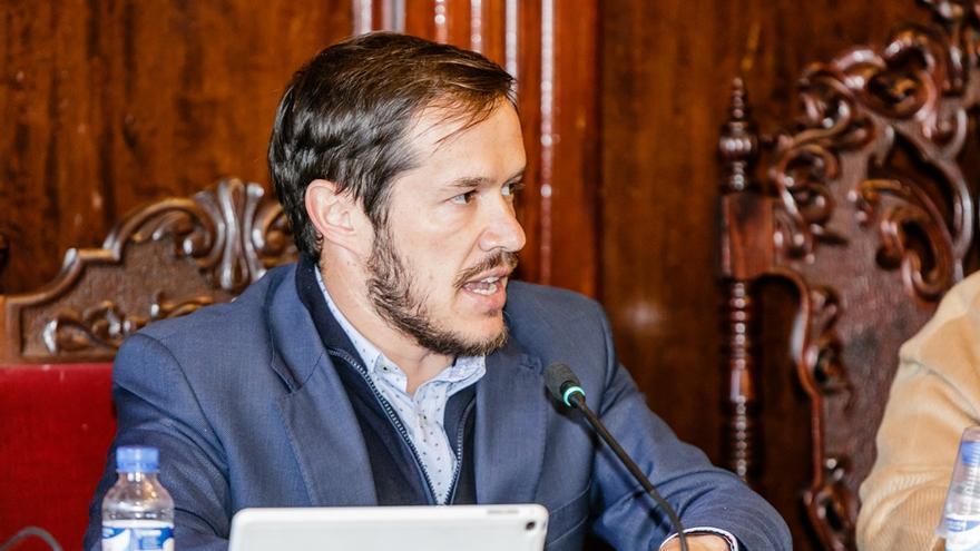 Mariano Hernández Zapata, teniente de alcalde del Ayuntamiento de Los Llanos de Aridane.
