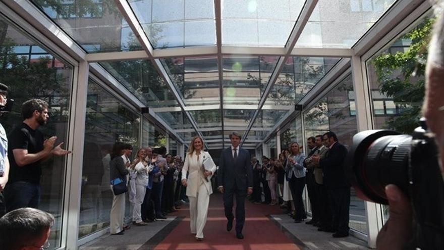 Más de 30 alcaldes y portavoces del PP arroparán a Cifuentes en su comparecencia sobre la polémica del máster