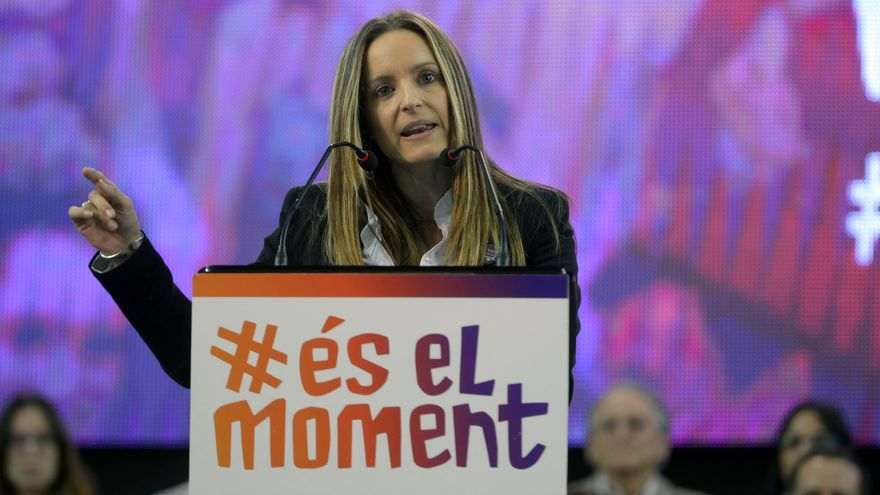 La diputada de 'És el moment' en el Congreso de los Diputados Àngela Ballester