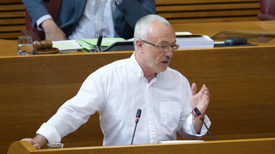 Antonio Montiel, portavoz de Podemos en las Corts