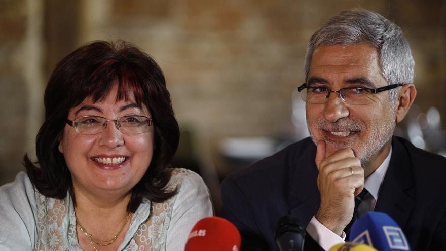 Llamazares pide un referéndum entre la militancia de IU sobre la convergencia para las elecciones generales
