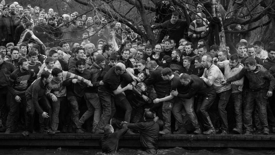 'Royal Shrovetide Football' | Oliver Scarff