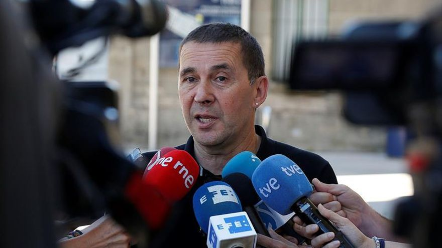 Covite insta a la Audiencia Nacional a frenar la candidatura de Otegi