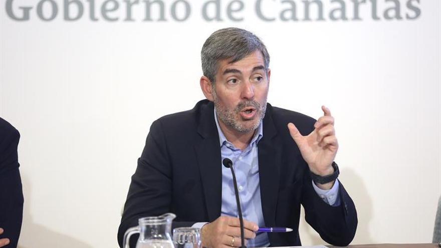 El presidente de Canarias, Fernando Clavijo.