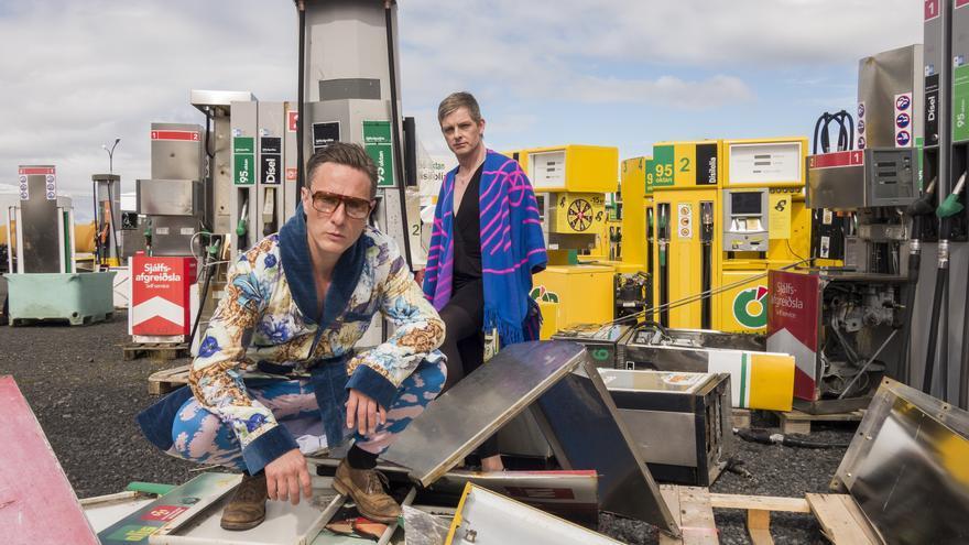 El dúo islandés Gus Gus, en una imagen promocional