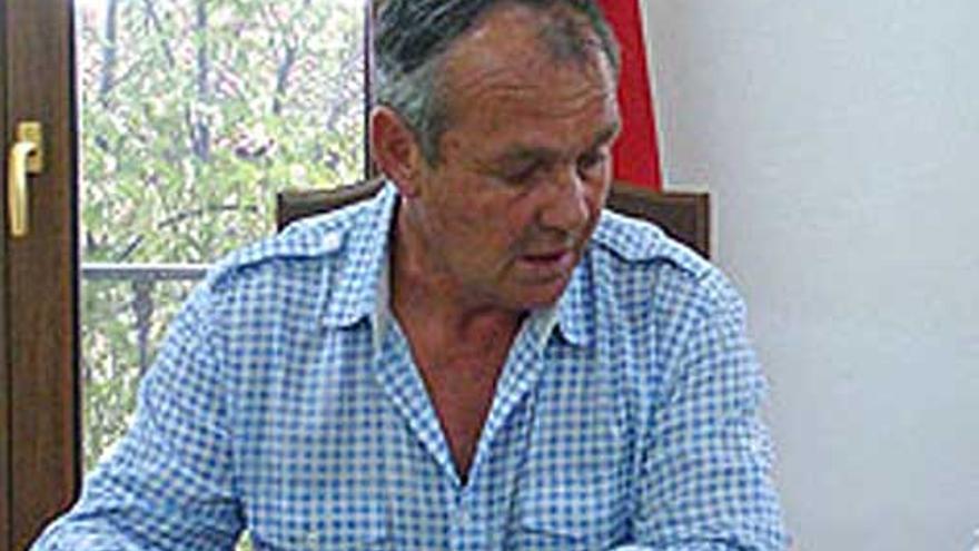 Mariano Escribano, alcalde de Hiendelaencina (Guadalajara) / Foto: Junta