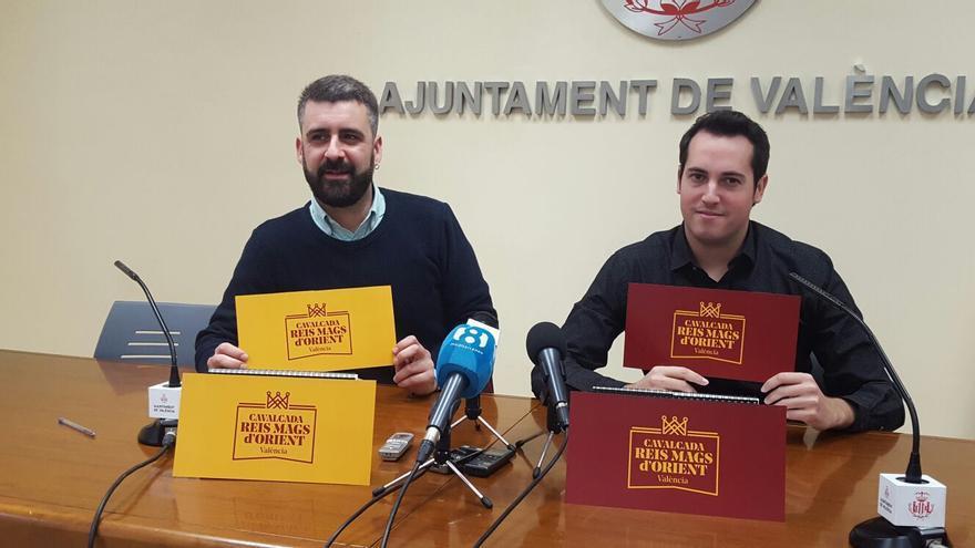 El concejal de Cultura Festiva, Pere Fuset (izquierda) y el director artístico, Sergio Heredia