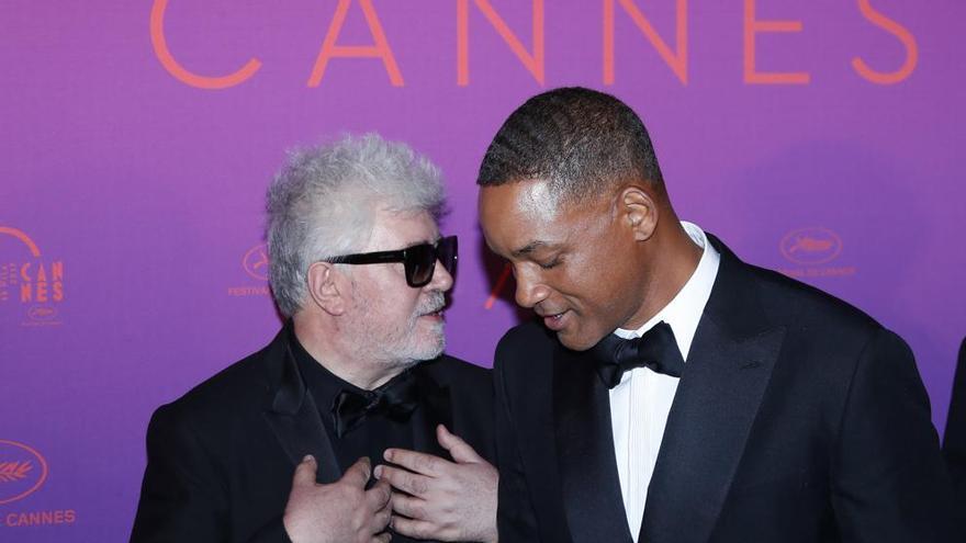 Will Smith y Pedro Almodóvar se han posicionado a favor y en contra de Netflix en Cannes