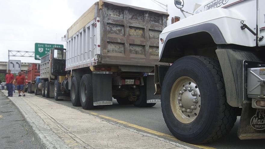 El paro de transportistas en Puerto Rico empieza a causar desabastecimiento