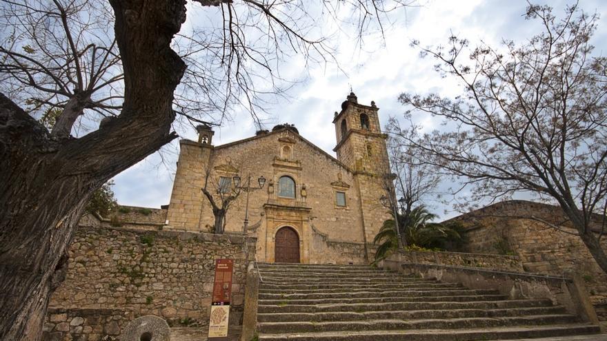Nuestra Señora de Rocamador, Valencia de Alcántara, otro de los puntos de la ruta / Turismo de Extremadura