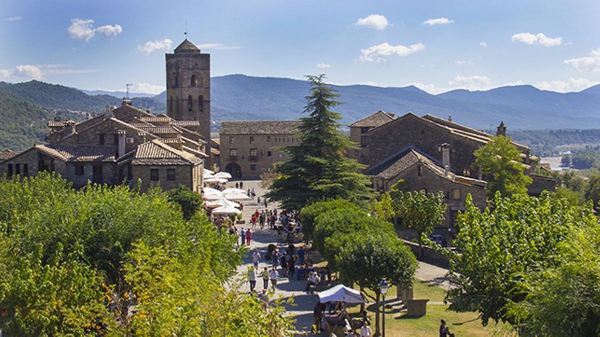 Aínsa, Sobrarbe, Huesca, Capital del Turismo Rural