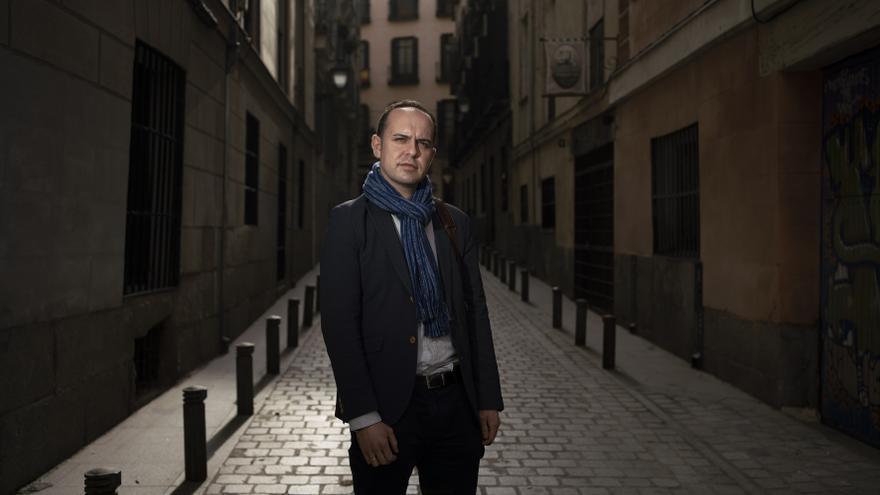 El concejal José Manuel Calvo, uno de los cuatro ediles que ha roto con el grupo de Más Madrid en el Ayuntamiento.