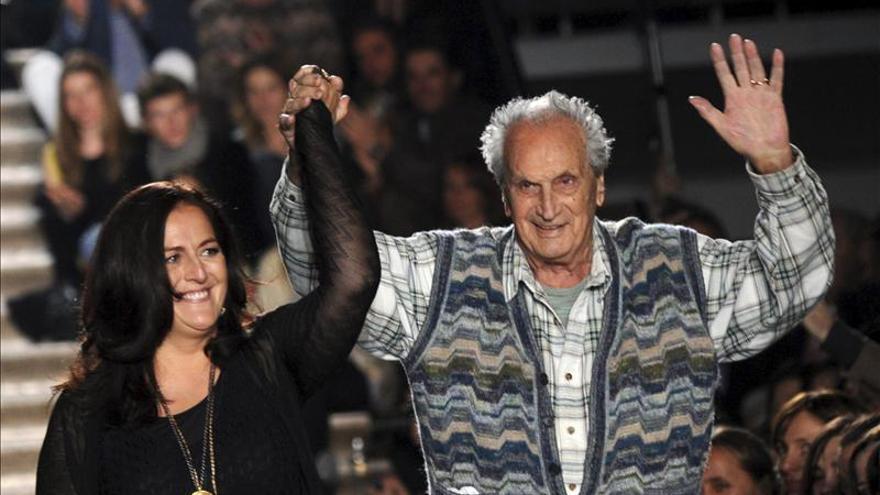 Muere Ottavio Missoni, fundador de la firma que revolucionó la moda