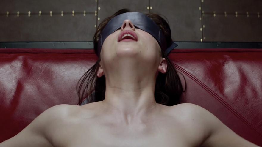 Fotograma de la película '50 sombras de Grey'