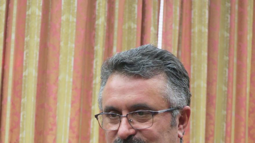 Primitivo Jerónimo, consejero de Cultura y Patrimonio Histórico del Cabildo de La Palma.