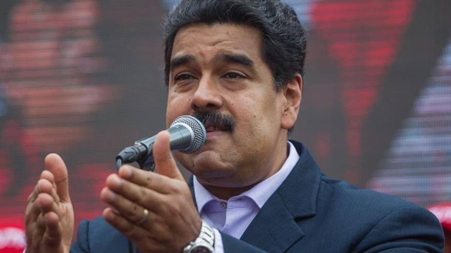 """Maduro advierte a España de acciones diplomáticas """"muy negativas"""""""