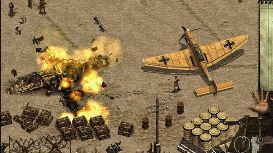 Imagen del videojuego Commandos: Behind Enemy Lines.