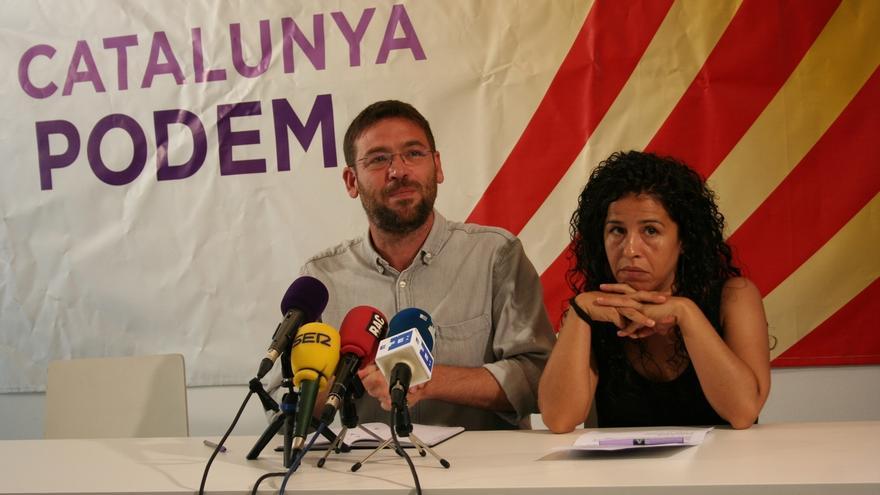 """Fachin exige respeto a la dirección nacional de Podemos: """"Lo que sucede en Cataluña se decide en Cataluña"""""""