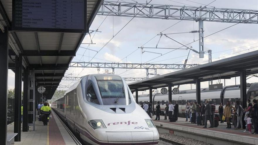 Restablecido el tráfico ferroviario entre Asturias y León