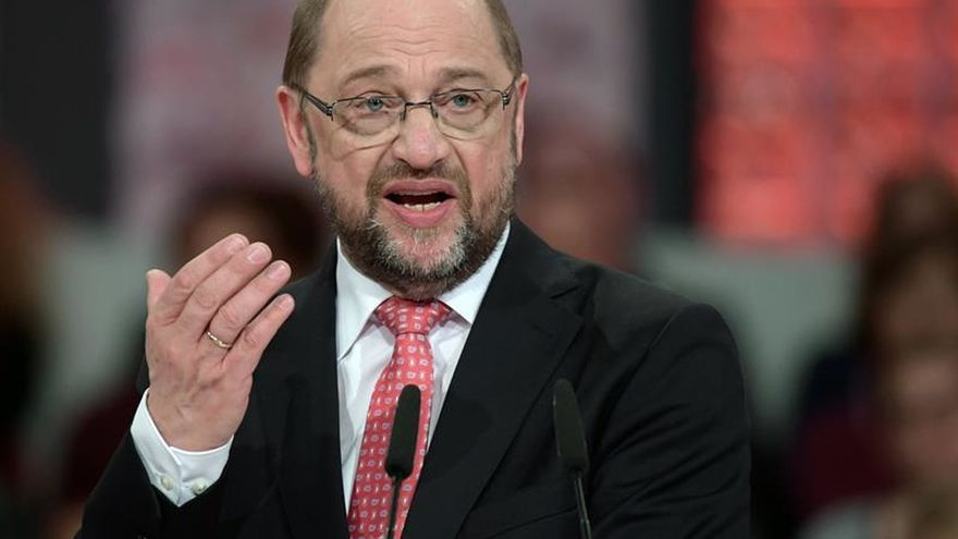 Pleno apoyo a Schulz para dirigir el destino de los socialdemócratas alemanes