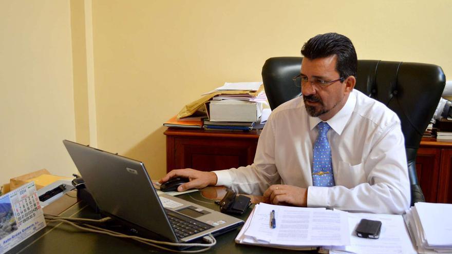 Angel Luis Castilla, Alcalde de San Sebastián de La Gomera