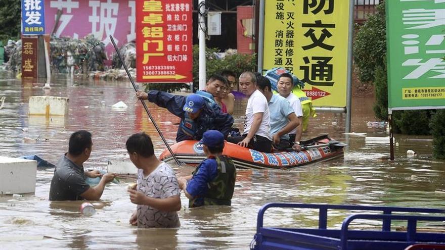 Las inundaciones dejan 18 muertos y 18 heridos en el noreste de China