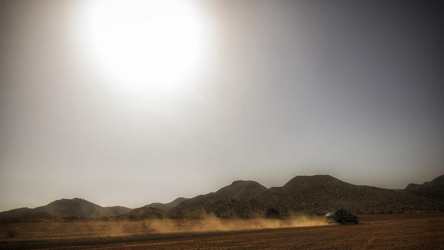 El desierto, otro escenario habitual para medir la resistencia de los coches.