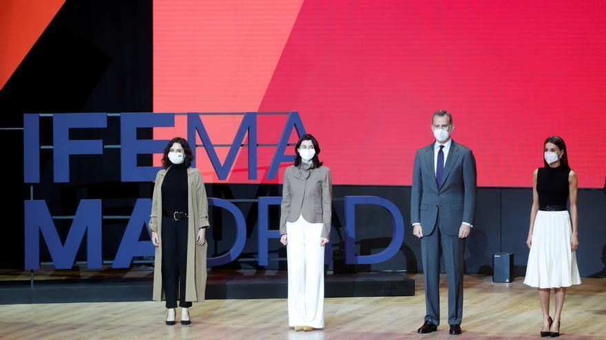 Los reyes presiden el lanzamiento de la nueva estrategia y logotipo de Ifema