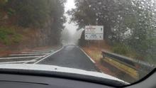 Lluvia en la comarca oeste de La Palma, el martes, 2 de junio.