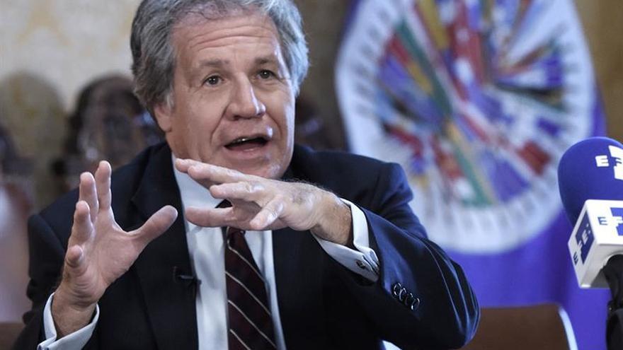"""Almagro y Guevara coinciden en que """"no hay diálogo efectivo"""" en Venezuela"""