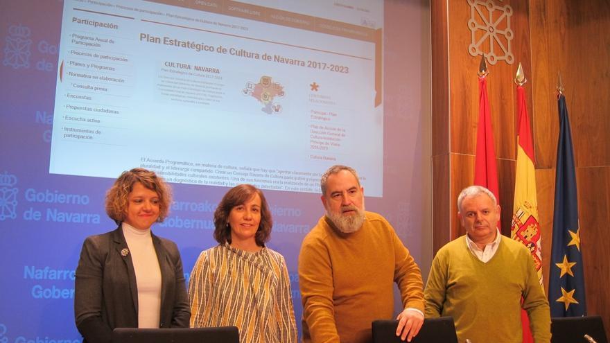 """El Plan Estratégico de Cultura de Navarra apuesta por que la cultura """"juegue un papel fundamental en los próximos años"""""""