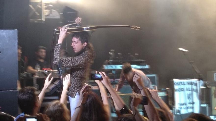 Miles Kane, en su concierto de Madrid / Roberto de Baltasar