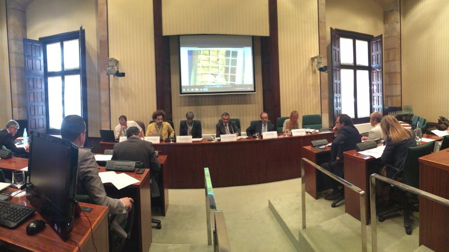 Sesión de debate en el Parlament de Catalunya sobre la abolición del uso de animales en circos. Foto: LIbera!