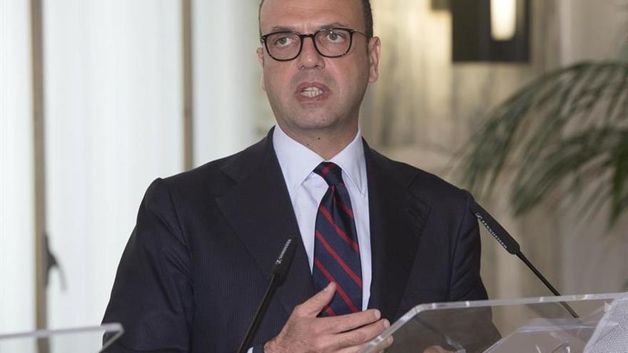 El ministro italiano condena la violencia en Venezuela y pide respeto de los derechos humanos