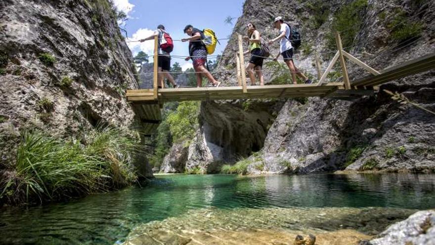 El Parrisal de Belecite, uno de los espacios naturales más espectaculares de Teruel. Turismo de Aragón