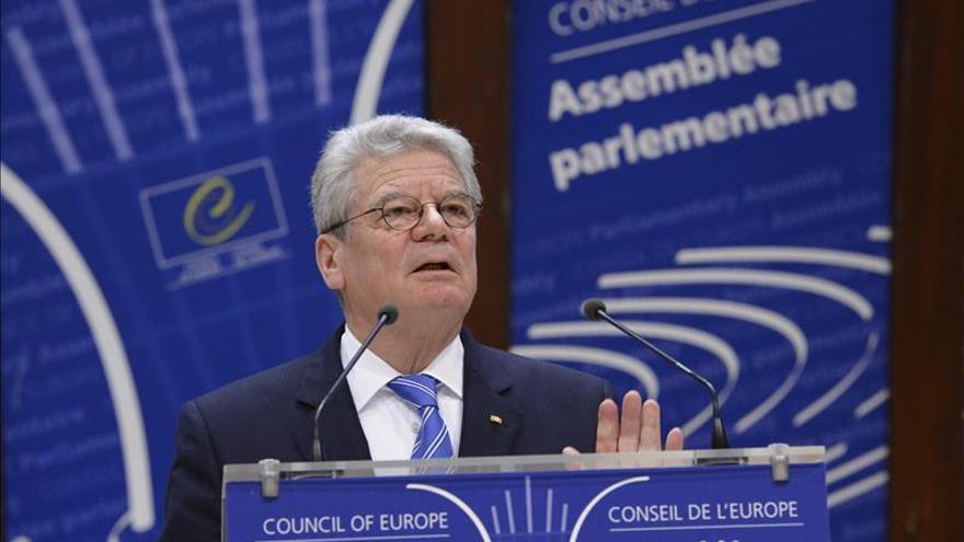 El presidente alemán Gauck inicia en Colombia una gira por América Latina