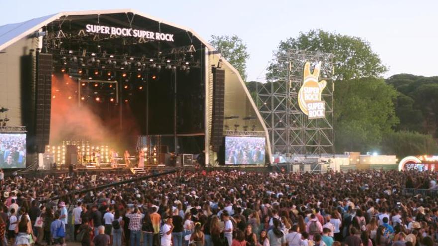 El Super Bock Super Rock, un festival de 30.000 asistentes diarios sostenible