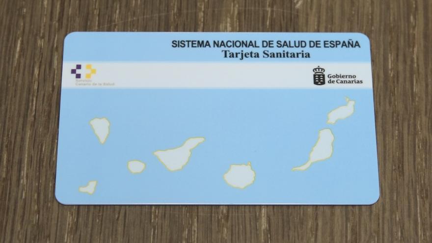 Nuevas tarjetas sanitarias de Canarias