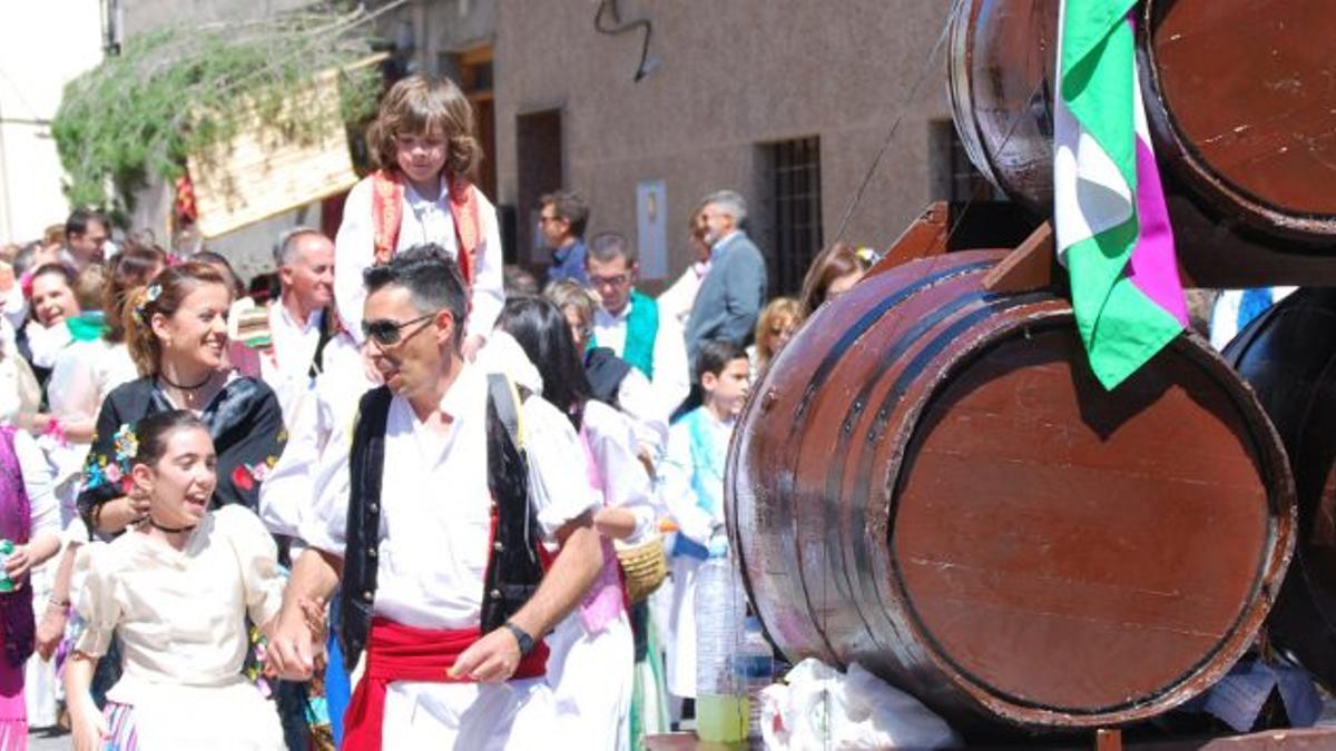Imagen de archivo de las Fiestas de San Marcos, en Bullas