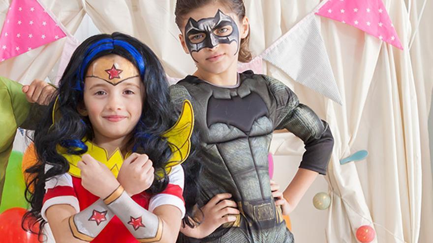 Seis claves para maquillar a tus hijos en carnaval.
