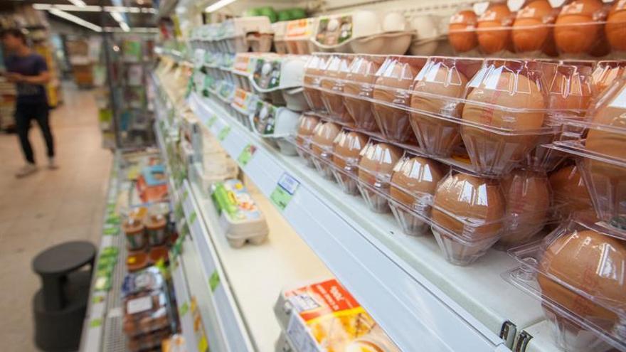 Inmovilizan en Bizkaia 20 toneladas de huevos contaminados con fipronil