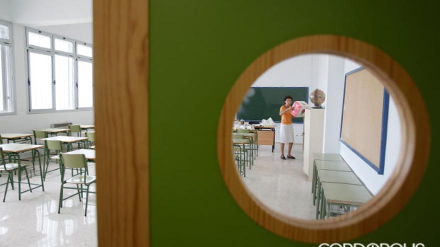 Aula de un instituto   ALVARO CARMONA